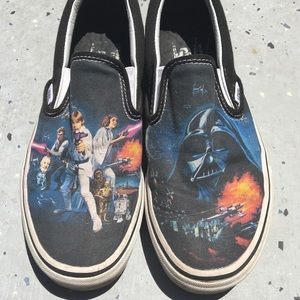 Star Wars Slip on vans